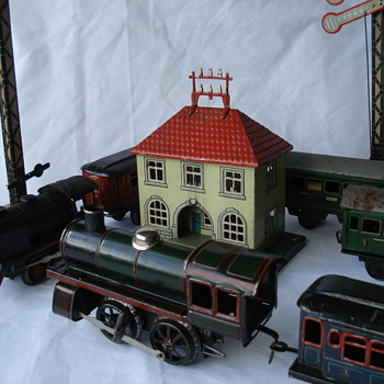 Karl Bub Nüremberg (KBN) clockwork trains (O Gauge) Germany 1940´s - Model Trains