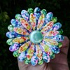 Enamel Flower Power Brooch