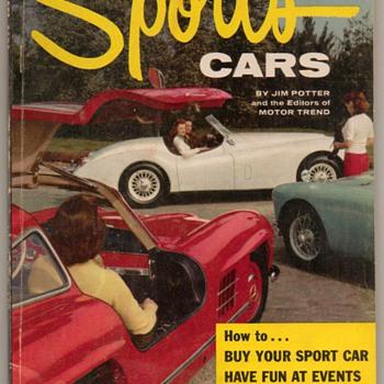 """1956 - """"Sports Cars"""" - Book - Books"""
