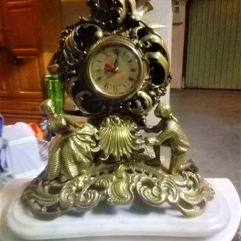 Bronze table watch - Clocks