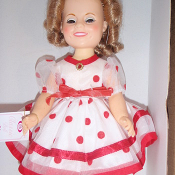 Tell me about the dress, Shirley Temple Doll - Dolls