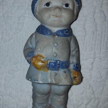 Japanese Porcelain Doll Made January 3, 1905 - Dolls