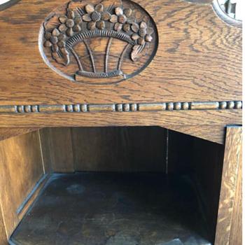 Antique Step-Back Cupboard or Sideboard?  - Furniture