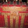 Steamer trunk from Ireland