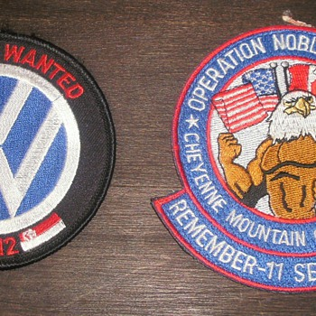 NORAD, Vance Air Force Class Patches - Military and Wartime