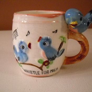 Whistle For Milk ! - Pottery