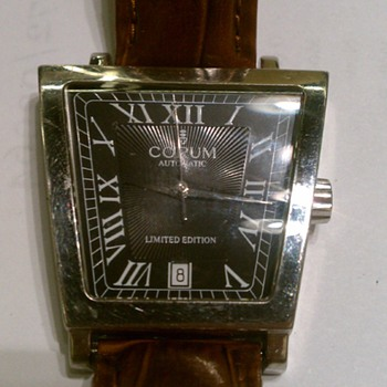 CORUM MENS WATCH LIMITED EDITION 63 OF 100