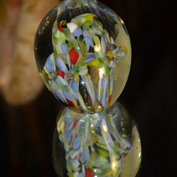 blown glass paperweight - Art Glass