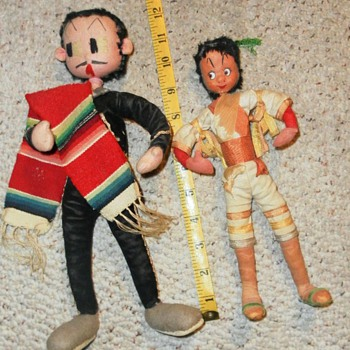OLD CHARACTER DOLLS - Dolls