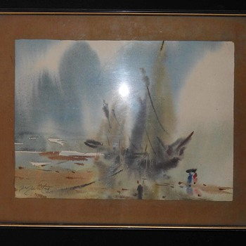 I want Know About this Painting Whether it is Rare or Common - Fine Art