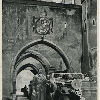 Adolf Hitler at Landsberg Prison 1934 - Photographs