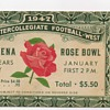 1947 Rose Bowl Ticket Stub