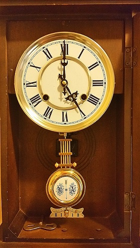 Junghans German 18th Century Ra Pendulum Wall Clock