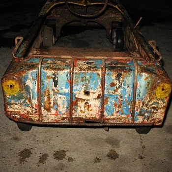 I want to identify my Pedal Car I want to restore it - Model Cars