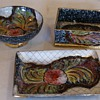 ITALIAN  3-peice Appears Hand painted  set dated on bottom