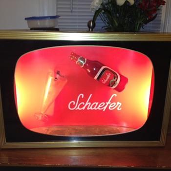 Schaefer Beer advertisement