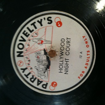 78's   lable Party Novelty's  adults only   - Records