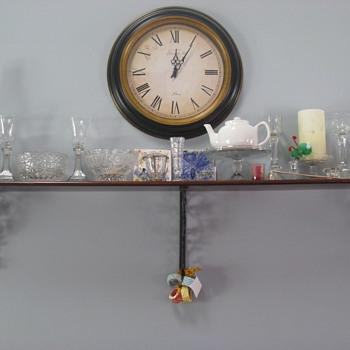 Clear Vintage Depression Glass - Glassware