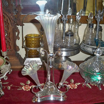 Silver plate Epergne - Silver