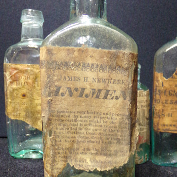Unknown Liniment, C. 1850-1860 - Bottles
