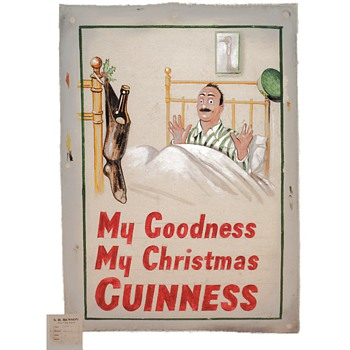 My Goodness My Christmas Guinness - Signs