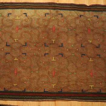 Old Shipibo Fabric from Peru - Rugs and Textiles