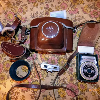 1960/1-agfa ambi sillette 35mm rangefinder camera.