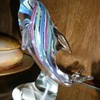 Murano Multi-Colored Dolphin Figurine