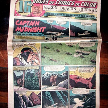 WWII Newspapers 2 - Comic Books