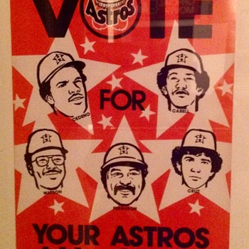 VOTE FOR YOUR ASTROS ALL-STARS  - Baseball