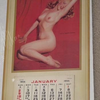 Marilyn Monroe 1955 pinup calendar - Paper