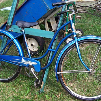 1950s Shapleigh Jet Boeing B47 Stratojet Bicycle