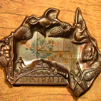 Australia Souvenir Ashtray - Advertising