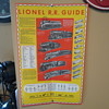 Lionel Rare (Lionel R.R. guide poster)