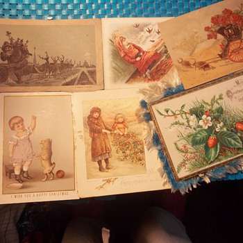 1880s GREETING CARD ADVERTISER, (FLYER) FOR JOBBERS,ETC..PRICES & TYPES & ASSORTED 1888s  CHRISTMAS CARDS