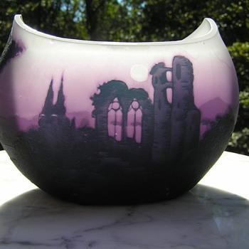 Loetz Richard Cameo Vase - Art Glass