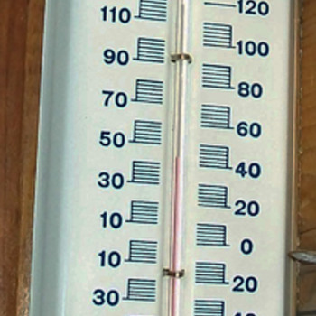 Standard thermometer NOS - Petroliana
