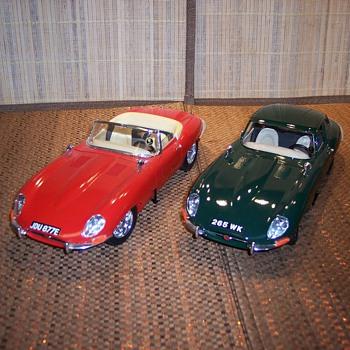 Jaguar 1/18 scale cars - Model Cars