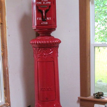 FDNY Fire Alarm pedestal - Firefighting