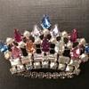 B David crown brooch