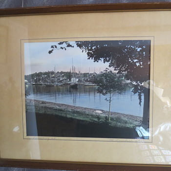 Lunenburg Harbour(A Mac kaskill picture)