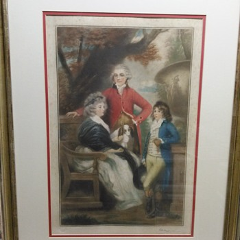 PRINTSELLERS ASSOCIATION ANTIQUE PRINT