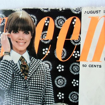 1960s Nostalgia for American Made Goods - Old Magazine Cover - Paper