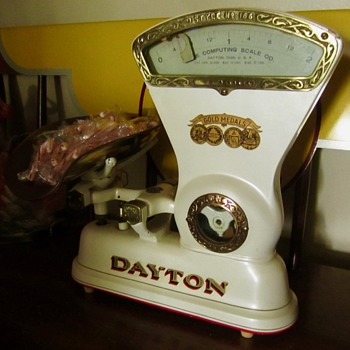 Dayton candy scale  - Advertising