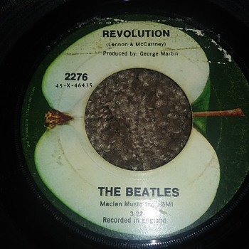 Now That The Hype Is Over With...The Beatles...On 45 RPM Vinyl - Records