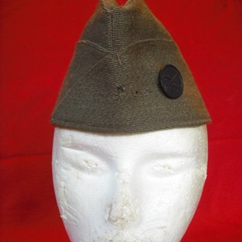 WWI or Early WWII US Overseas Cap #3 - Military and Wartime