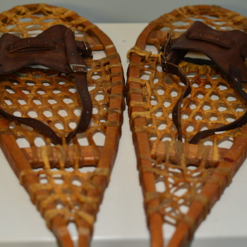 Vintage Snow shoes Possibly childrens