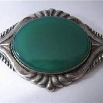 Art Noveau brooch - Art Nouveau