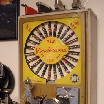 Pen Vendorama - Coin Operated