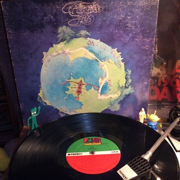 Yes it is  fragile ,,  - Records